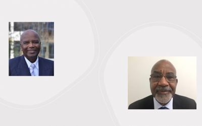 Presidente i presidente suplente di CGOA ta tuma retiro